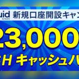 Liquid by Quoine(リキッドバイコイン) 新規口座開設キャンペーン開催!