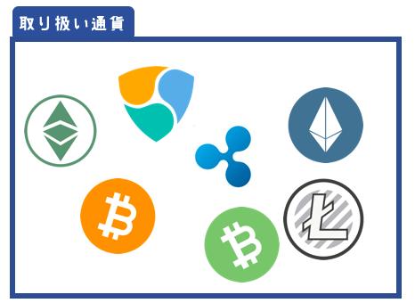 DMM Bitcoin1周年キャンペーン通貨ペア