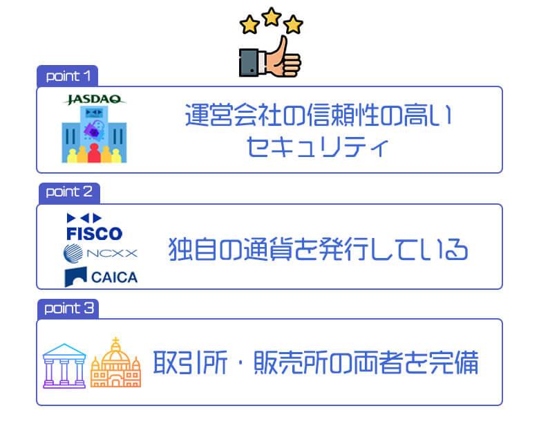 フィスコ仮想通貨取引所(FISCO)のメリット