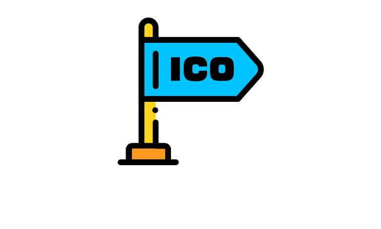 ICOプラットフォームの図