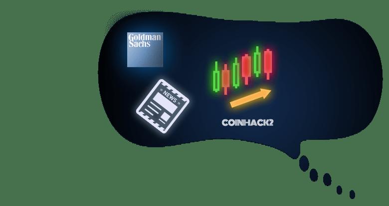 ゴールドマンサックス仮想通貨上昇トレンド